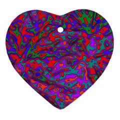 We Need More Colors 35b Heart Ornament (Two Sides)