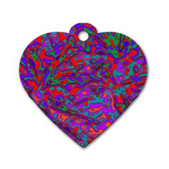 We Need More Colors 35b Dog Tag Heart (One Side)