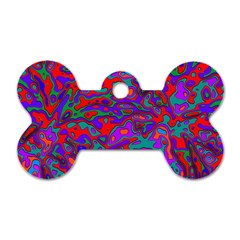 We Need More Colors 35b Dog Tag Bone (Two Sides)