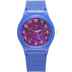 We Need More Colors 35b Round Plastic Sport Watch (S)