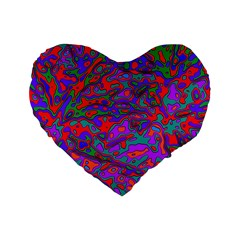 We Need More Colors 35b Standard 16  Premium Heart Shape Cushions