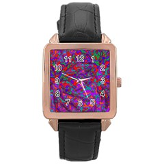 We Need More Colors 35b Rose Gold Leather Watch