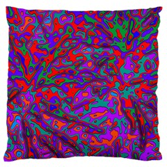 We Need More Colors 35b Large Flano Cushion Case (One Side)