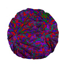 We Need More Colors 35b Standard 15  Premium Flano Round Cushions