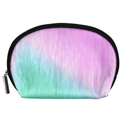 Pink green texture                                                       Accessory Pouch