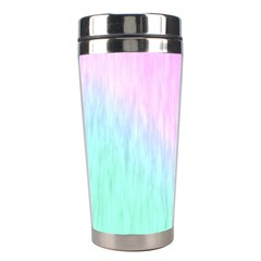 Pink green texture                                                       Stainless Steel Travel Tumbler