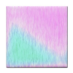 Pink green texture                                                       			Tile Coaster