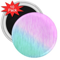 Pink green texture                                                       			3  Magnet (10 pack)