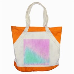 Pink green texture                                                       			Accent Tote Bag