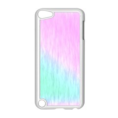 Pink green texture                                                      			Apple iPod Touch 5 Case (White)