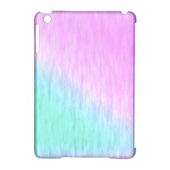 Pink green texture                                                      			Apple iPad Mini Hardshell Case (Compatible with Smart Cover)