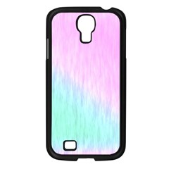 Pink green texture                                                      			Samsung Galaxy S4 I9500/ I9505 Case (Black)