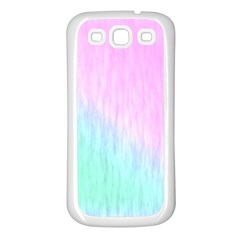 Pink green texture                                                      Samsung Galaxy S3 Back Case (White)