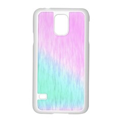 Pink green texture                                                      			Samsung Galaxy S5 Case (White)