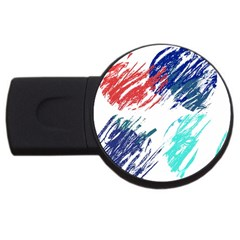 Scribbles                                                       			USB Flash Drive Round (2 GB)
