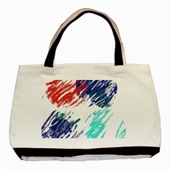 Scribbles                                                       			Basic Tote Bag