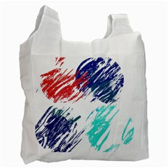 Scribbles                                                       Recycle Bag (One Side)