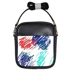 Scribbles                                                       			Girls Sling Bag