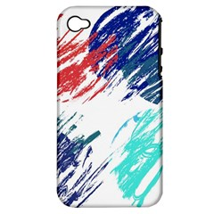 Scribbles                                                      			Apple iPhone 4/4S Hardshell Case (PC+Silicone)