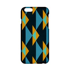 Yellow blue triangles pattern                                                       			Apple iPhone 6/6S Hardshell Case