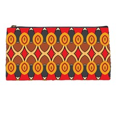 Ovals pattern                                                         	Pencil Case