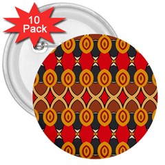 Ovals pattern                                                         3  Button (10 pack)