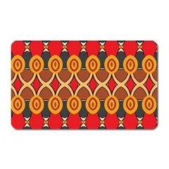 Ovals pattern                                                         			Magnet (Rectangular)