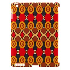 Ovals pattern                                                        			Apple iPad 3/4 Hardshell Case (Compatible with Smart Cover)