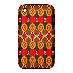 Ovals pattern                                                        			Apple iPhone 3G/3GS Hardshell Case (PC+Silicone)