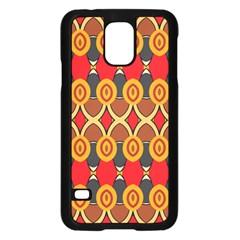 Ovals pattern                                                        Samsung Galaxy S5 Case (Black)