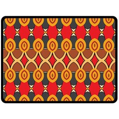 Ovals pattern                                                        Fleece Blanket