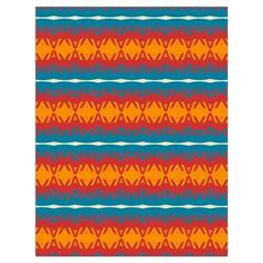 Shapes rows                                                          Large Drawstring Bag