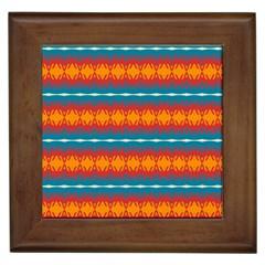 Shapes rows                                                          Framed Tile