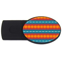 Shapes rows                                                          			USB Flash Drive Oval (1 GB)