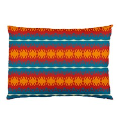 Shapes rows                                                          			Pillow Case