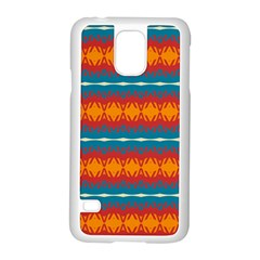 Shapes rows                                                         Samsung Galaxy S5 Case (White)