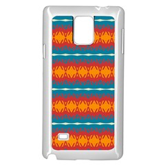 Shapes rows                                                         Samsung Galaxy Note 4 Case (White)