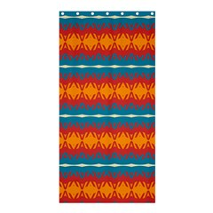 Shapes rows                                                         	Shower Curtain 36  x 72