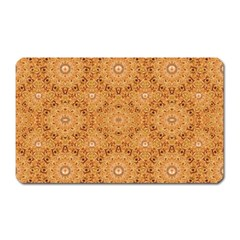 Intricate Modern Baroque Seamless Pattern Magnet (Rectangular)
