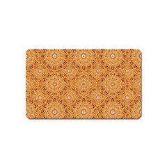 Intricate Modern Baroque Seamless Pattern Magnet (Name Card)