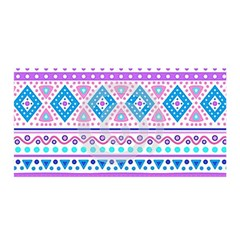 Tribal pastel hipster  Satin Wrap