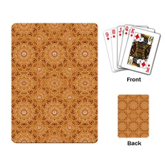 Intricate Modern Baroque Seamless Pattern Playing Card