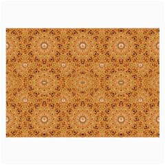 Intricate Modern Baroque Seamless Pattern Large Glasses Cloth (2-Side)