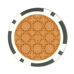 Intricate Modern Baroque Seamless Pattern Poker Chip Card Guard