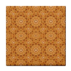 Intricate Modern Baroque Seamless Pattern Face Towel