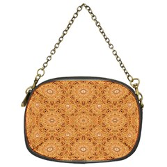 Intricate Modern Baroque Seamless Pattern Chain Purses (One Side)