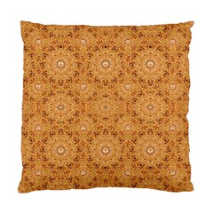 Intricate Modern Baroque Seamless Pattern Standard Cushion Case (One Side)