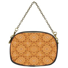 Intricate Modern Baroque Seamless Pattern Chain Purses (Two Sides)