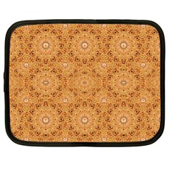 Intricate Modern Baroque Seamless Pattern Netbook Case (XL)