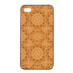Intricate Modern Baroque Seamless Pattern Apple iPhone 4/4s Seamless Case (Black)